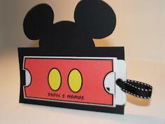 Convite do Mickey! :) Liindo!