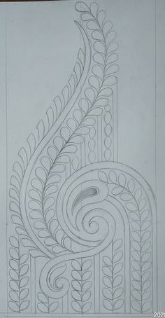 Indian Embroidery Designs, Hand Embroidery Patterns, Embroidery Stitches, Pencil Design, Peacock Art, Beautiful Rangoli Designs, Sketch Design, Designs To Draw, Quilting Designs