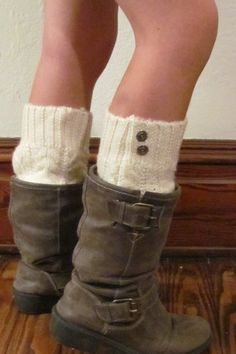 Ivory cable knit boot sock-legwarmer- boot cuff-boot warmers legwarmer boot socks on Etsy, $26.00