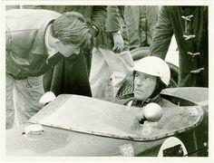 Lady Wigram Trophy Race.Stirling Moss & Bruce McLaren  1960s