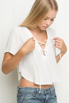 Brandy ♥ Melville   Ily Top - Clothing
