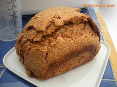Pan de centeno integral. Panificadora   Cocina