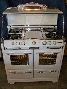 O'Keefe & Merritt double oven  reliance appliance