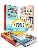 Free Kindle Book -  [Health & Fitness & Dieting][Free] Critical Thinking And Body Talk Box Set: 40 Effective Ways and Tools to Become a Critical Thinker, and 32 Body Language Gestures and Meanings on How to ... language book, critical thinking skills) Check more at http://www.free-kindle-books-4u.com/health-fitness-dietingfree-critical-thinking-and-body-talk-box-set-40-effective-ways-and-tools-to-become-a-critical-thinker-and-32-body-language-gestures-and-meanings-on-how-to-l/