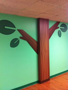 2D Trees used in children's themed environments