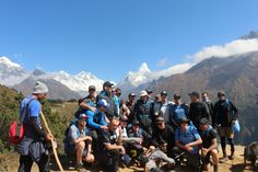 #LifeHimalayatrekking organized a trek to Everest base camp this year with some #famous #celebrities from #Australia. They successfully reached Mt. Everest base camp although they did trek in big group. Everyone enjoyed a 12 days trek to Everest base Camp and return back to Kathmandu with exciting Helicopter flight over the Himalayas close to Everest. Our importance are experienced Local guides, safety, comfortable,enjoyable and successful treks to Mt. Everest base camp 5364m. #MtEverest