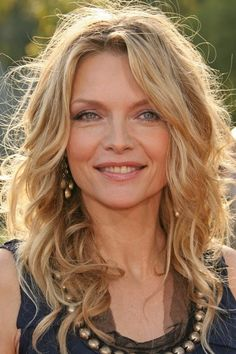 michelle pfeiffer celebrity style: Michelle Pfeiffer with beaded neckline