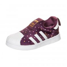 adidas Originals Superstar Foundation Sneaker Kinder lila weiß | Sneaker bei OUTFITTER