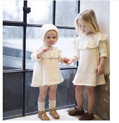 $16.99 (Buy here: https://alitems.com/g/1e8d114494ebda23ff8b16525dc3e8/?i=5&ulp=https%3A%2F%2Fwww.aliexpress.com%2Fitem%2F2015-INS-fall-sweater-knit-dress-baby-girls-baby-dress-party-dress-birthday-gift-cute-baby%2F32532233168.html ) 2015 INS fall sweater knit dress baby girls baby dress party dress birthday gift cute baby girl clothings for just $16.99