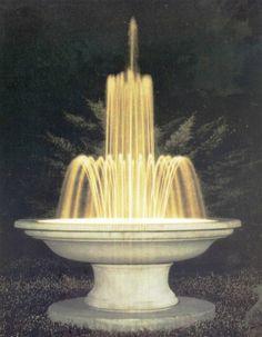 Fontana CROTONE 4° in cemento - Ø cm 190x87H - arredogiardini.it