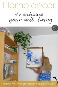 how to enhance your well being through interior decoration read my tips i applied to my own shelf rearrangement and get inspired for your own creative flow to develop a relaxed and balanced home - The world's most private search engine Organic Structure, Positive Images, Beautiful Cover, Can Design, Custom Art, Natural Light, Blog, Cool Designs, Interior Decorating