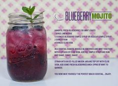 If Violet Beauregarde didn't turn into a big blueberry and float away, she would've been around (and old enough!) to enjoy this Blueberry Mojito! Okay, my husband wrote that line, but I thought it was cute so I left it ; ) Anyway, HAPPY 4TH of JULY!!! You should all celebrate with this oh so...read more