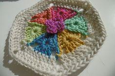 #Crochet motif free pattern from Suz Place