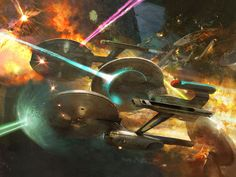 Space Battle of Star Trek