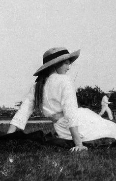 Grand Duchess Tatiana Nikolaevna Romanova of Russia in1912 at the Crimea.A♥W