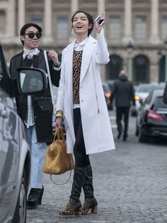 Day 4 Street Style at Paris Fashion Week