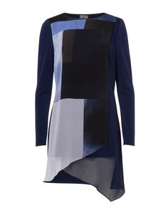 ae3ed550f02 Buy Phase Eight Vinny Colour Block Tunic, Navy from our Women's Shirts &  Tops range at John Lewis & Partners.
