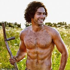 Ross Poldark, played by Aidan Turner on the new TV series, is one of our current favorite book boyfriends