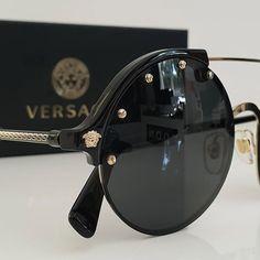 Versace eyewear in stock now 🕶👑 Versace Eyewear, Sunglasses, Fashion, Moda, Fashion Styles, Sunnies, Shades, Fashion Illustrations, Eyeglasses