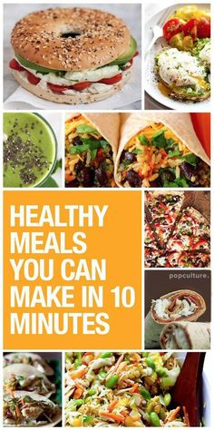 Too busy to cook healthy meals for yourself and/or your family? Here are 5 days of 10-minute meals for busy, healthy women. Popculture.com #healthyliving #familymeals #recipes #lowcalorie #weightwatcherspoints #healthyfood