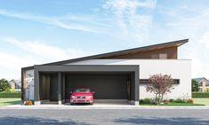 Futuristic Architecture, Facade Architecture, Mountain Home Exterior, Modern House Facades, Facade House, Building A House, House Plans, Interior, Outdoor Decor