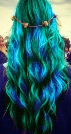 cabello de colores tumblr - Buscar con Google