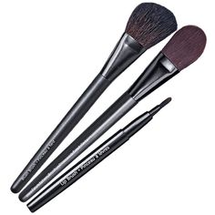 Give your look the PRO TREATMENT with these expertly-designed brushes with high-quality bristles.  Includes: Avon Pro Foundation Brush  Nylon bristles.   Avon Pro Blush Brush  Natural bristles.   Avon Pro Lip Brush  Nylon bristles. Retractable with protective cover.Set of brushes reg.  $30.97 NOW $15.00 until Dec 29, 2014 only