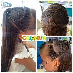 Bellos peinados y trenzas siempre en Colorin peluquerías visita nuestras sedes en Cúcuta Braids For Kids, Little Brown, Tween, Hair And Nails, Girl Hairstyles, Brown Hair, Diana, Hair Care, Hair Beauty