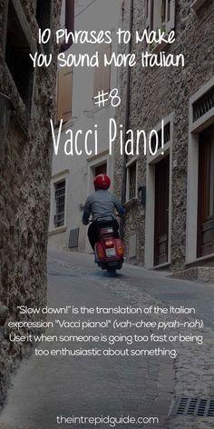 Italian Grammar, Italian Vocabulary, Italian Phrases, Italian Words, Italian Quotes, Italian Language, Korean Language, Spanish Language, Italian Proverbs