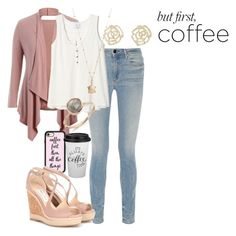 """coffee"" by fashionfreak4everr ❤ liked on Polyvore featuring Alexander Wang, LC Lauren Conrad, Charlotte Russe, Casetify and Jimmy Choo"