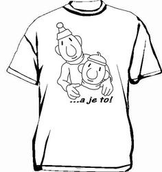 Buurman & Buurman T-shirt SCHETS WIT