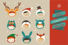 50 Brand New Christmas Designs to Inspire Your Holiday Projects ~ Creative Market Blog