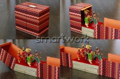 Portfolio of Invitations by Smart Work Design Indian Wedding Gifts, Desi Wedding Decor, Indian Wedding Planning, Wedding Mandap, Wedding Card Design, Bengali Wedding, Wedding Ideas, Diy Diwali Decorations, Wedding Decorations