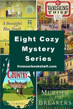 Do you love a good cozy mystery? Today I am not only sharing some great cozy mysteries, but eight great cozy mystery series. Book Tv, Book Club Books, Book Lists, The Book, Book Nerd, Best Books To Read, I Love Books, Good Books, Mystery Novels