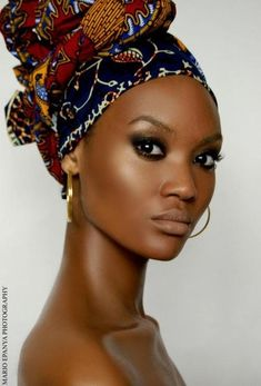 """Head wraps or """"gele"""", are not only culturally correct for African and African-American women, they are also beautiful. Description from pinterest.com. I searched for this on bing.com/images"""