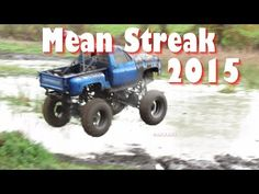 Mean Streak Blue Chevy At Hale Mud Bog Spring 2015 - YouTube