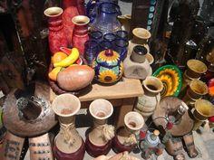 Pottery in Guanajuato, Mexico.