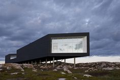 Artist Studio, Fogo Island, Newfoundland. Can't wait to go the summer.