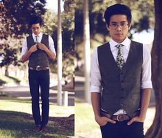 I'm pretty sure just about every guy should wear vests.