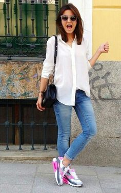 9f3545f630 10 Best Nike air max 90 women outfit images | Fashion clothes ...