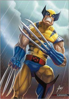 Wolverine by tony-tzanoukakis.deviantart.com on @DeviantArt
