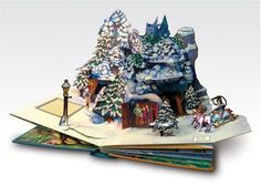 Chronicles of Narnia Pop-Up - I'm literally sitting here with my jaw dropped. Every pop up book by Robert Sabuda looks breathtakingly amazing. Why have I never heard of these before!?