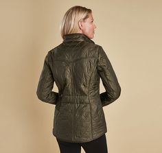Barbour Cavalry Polarquilt Jacket - Olive by Barbour from THE LUCKY KNOT - 4
