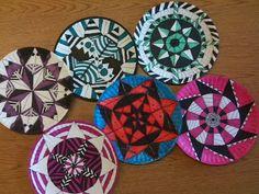 Paper Plate Mandalas