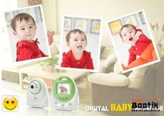 Baby Monitor - Two Way Audio, Temperature Alarm #babymonitor