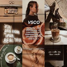 VSCO: Filter will give your photos a coffee tone. Vsco Pictures, Editing Pictures, Photography Filters, Photography Editing, Best Vsco Filters, Vsco Effects, Vsco Themes, Photo Editing Vsco, Vsco Presets