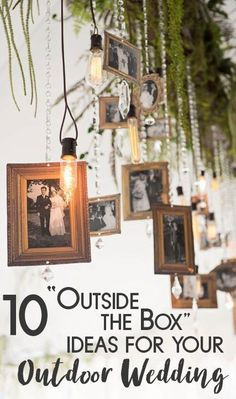Check out these outside the box wedding ideas for your outdoor wedding. Feel inspired by the unique decor and DIY decorations. Outdoor Wedding Reception, Outside Wedding, On Your Wedding Day, Outdoor Weddings, Outdoor Ceremony, Wedding Ceremonies, Wedding Aisles, Wedding Bells, Chic Wedding