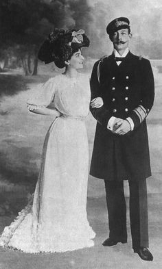Princess Marie Bonaparte and Prince George of Greece and Denmark