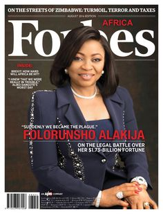 Mrs Folorunsho Alakija, an executive of one the largest deepwater oil discoveries in Nigeria and one of Africa's richest women covers the…