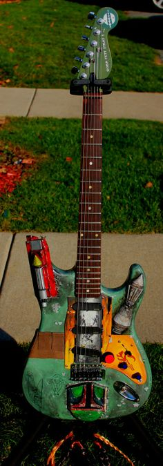 Boba Fett Strat...1ST Inductee into my Guitar Picture Collection